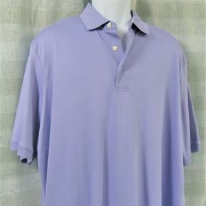Lavender Lands End Polo/Rugby Shirt